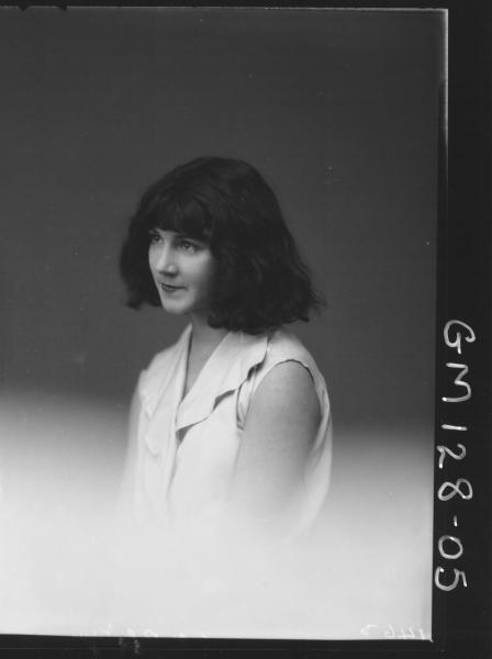 Portrait of copy of girl 'Irvine'