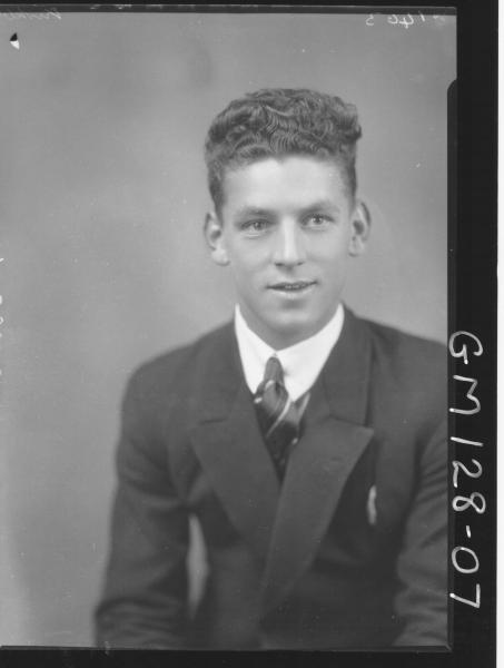 Portrait of man 'Kirkby'