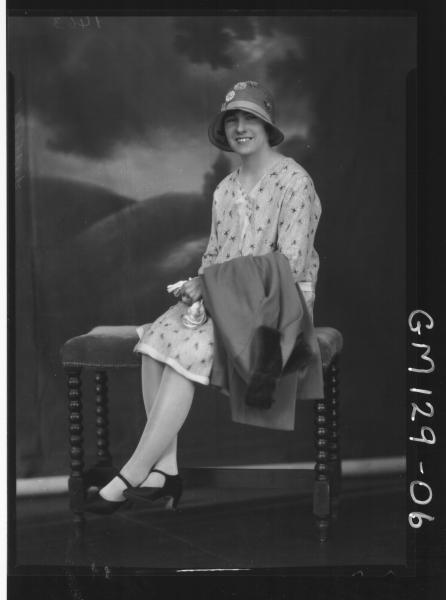 Portrait of woman 'Luttrell'