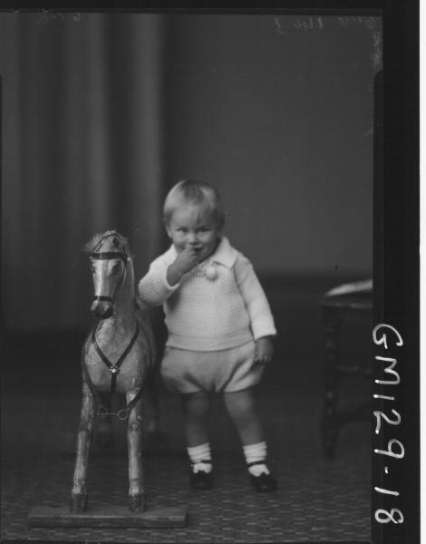 Portrait of child 'Jones'