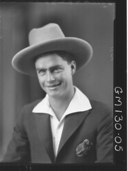 Portrait of man 'Dunne'