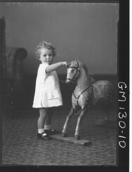 Portrait of child 'Brandstreath'