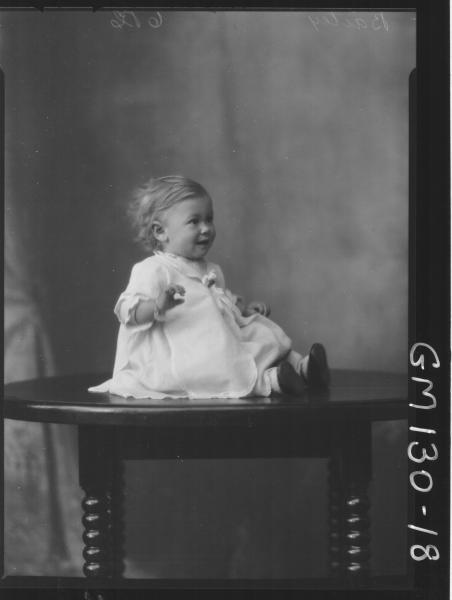 Portrait of child 'Bailey'