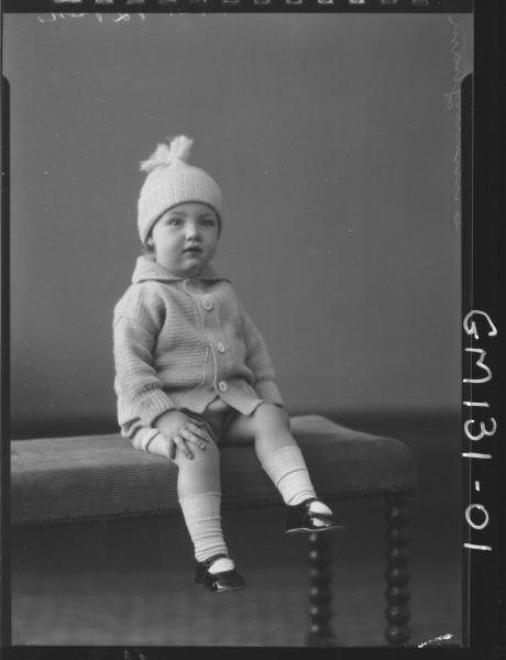 Portrait of child 'Cunningham'