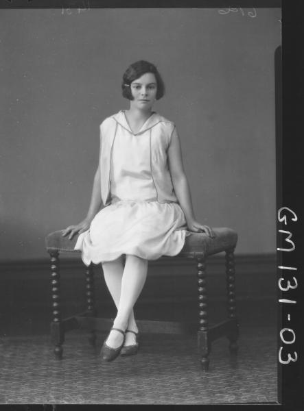 Portrait of woman 'Clohessy'