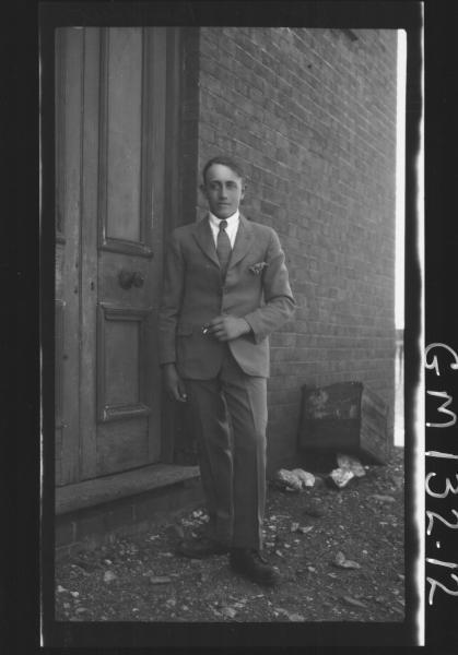 Outdoor picture of man 'Bordoni'