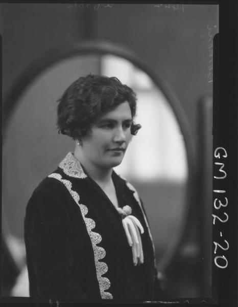Portrait of woman 'Bordoni'