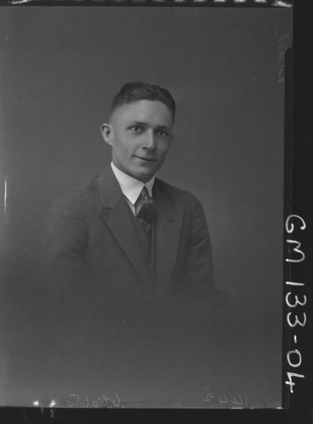 Portrait of man 'Black'