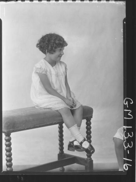 Portrait of child 'Bingley'