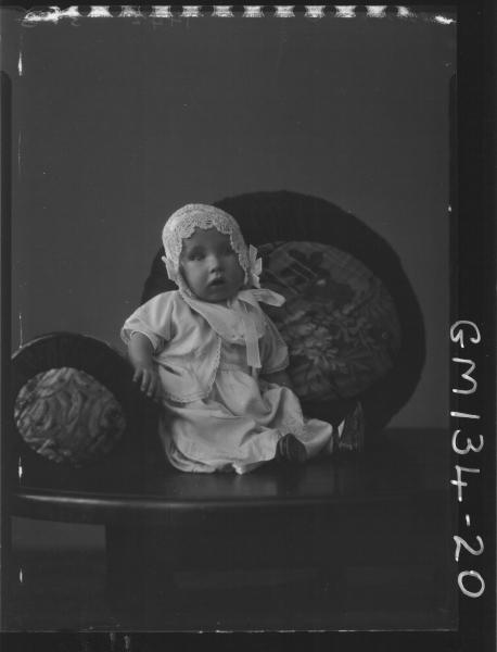 Portrait of baby 'Bennett'