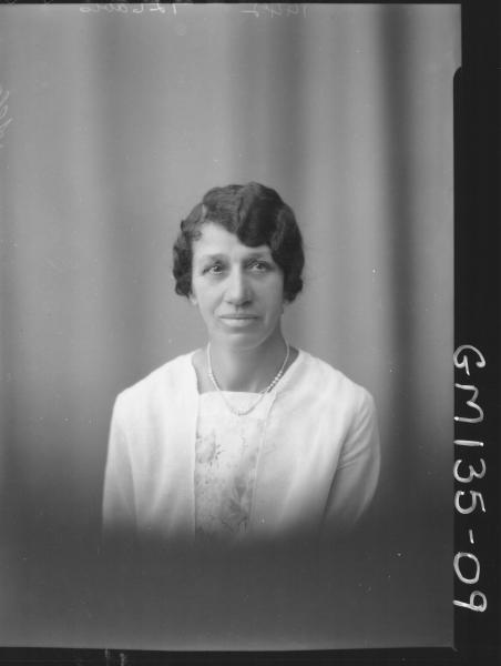 Portrait of woman 'Allan'
