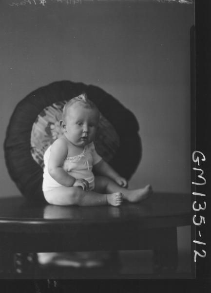 Portrait of baby 'Barton'