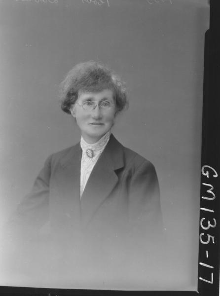 Portrait of woman 'Davies'