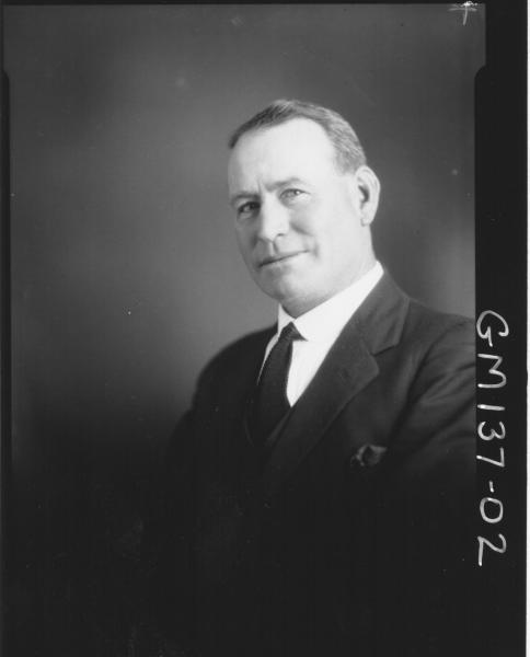 Portrait of man 'O'Brian'
