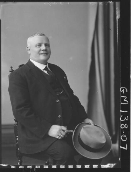 Portrait of man 'Hammond'