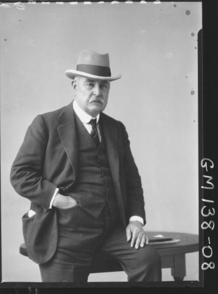 Portrait of man 'Hocking'
