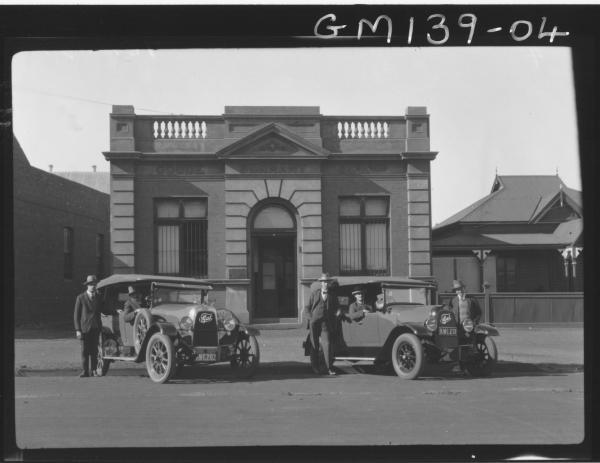 Men outside Goode Durrant Office