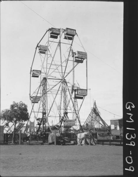 Ferris wheel at fair