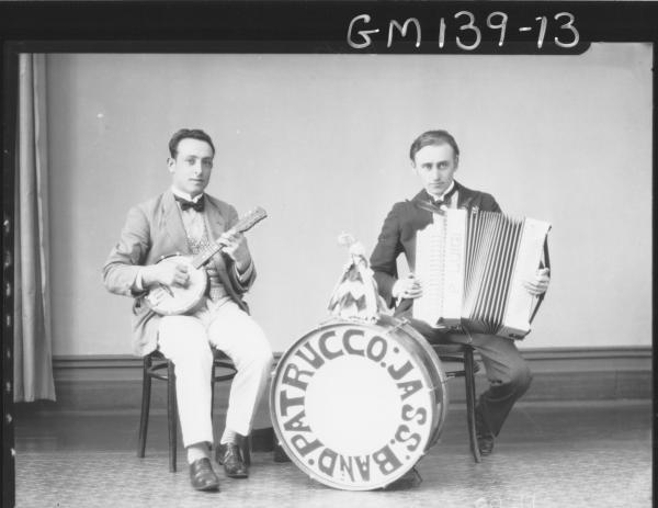 Two men in Patrucco Jazz Band 'Nicola'