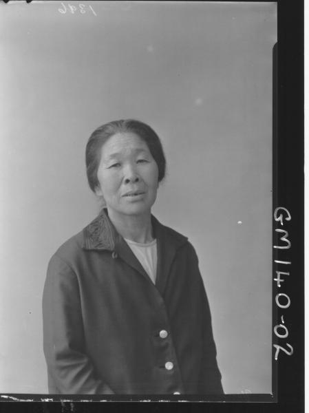 Portrait of Japanese woman 'Yeoh'
