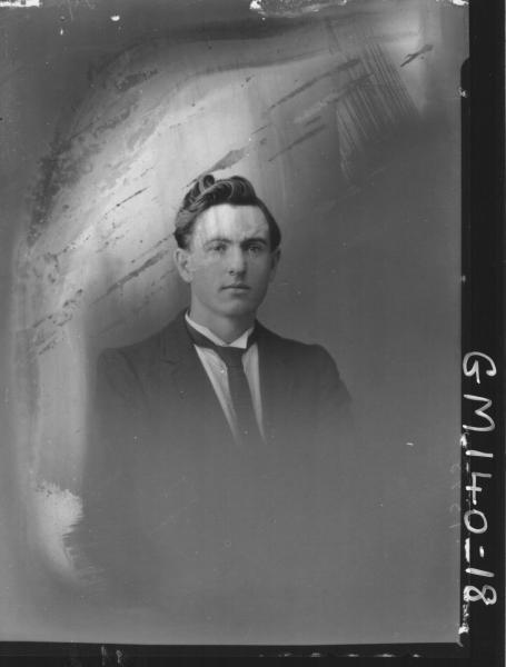 Portrait of man 'Lynch'