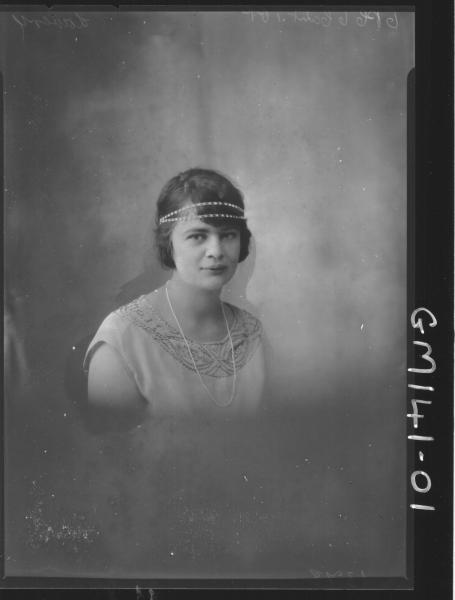 Portrait of woman 'Lavery'