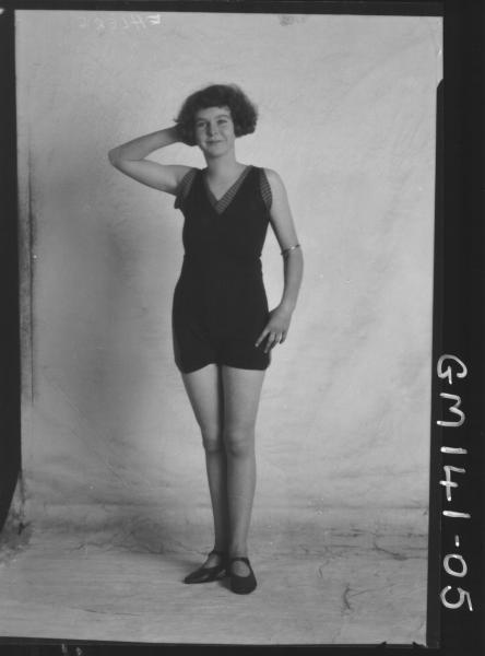 Portrait of woman bathers 'Ehlers'