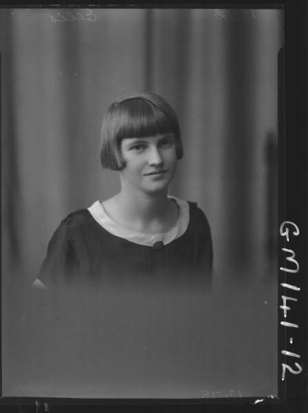 Portrait of woman 'Ellis'