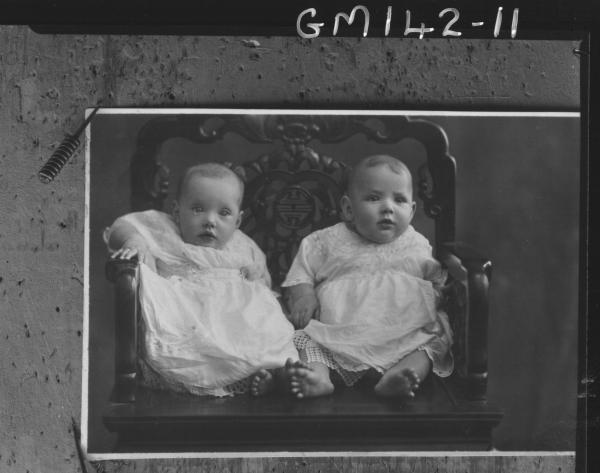 Copy of two babies 'Grantham'