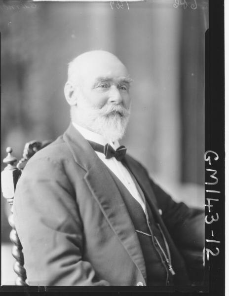Portrait of elderly man 'Curnow'