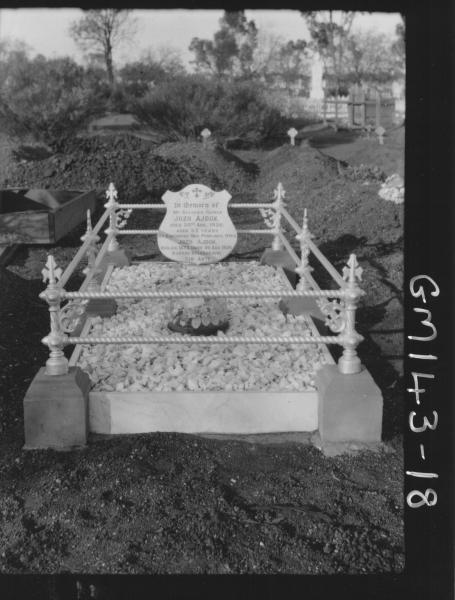 Grave of Jozo Ajduk, AJDECK Yozeo, Coolgardie Cemetery.