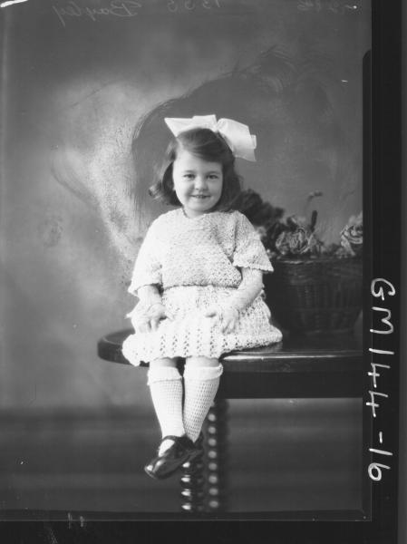 Portrait of child 'Bayley'