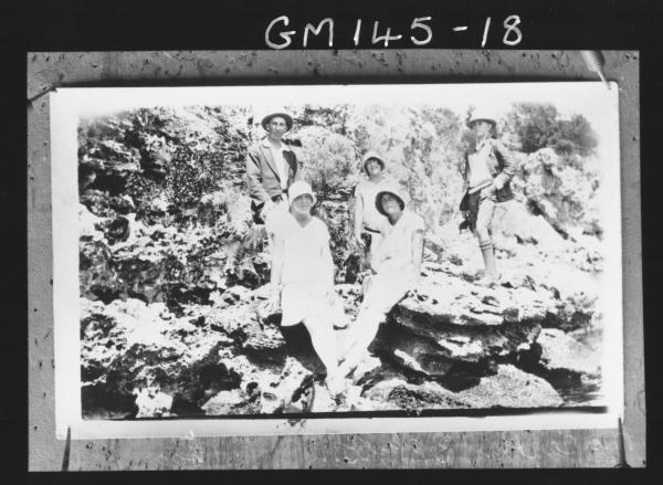 Copy of group on rocks 'McCarthy'