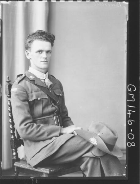 Portrait of soldier 'Burnett'