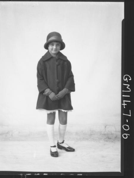 Portrait of child 'Band'