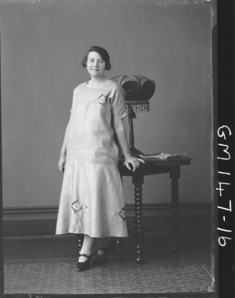 Portrait of woman 'Buckman'