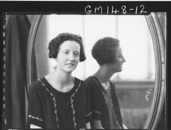 Portrait of woman 'Barton'