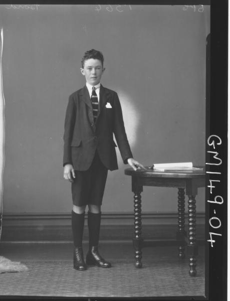Portrait of boy 'Band'