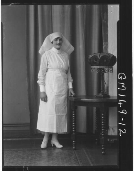 Portrait of Nurse 'Johnson'
