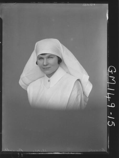 Portrait of Nurse 'Brooks'