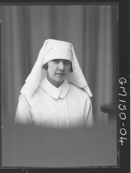 Portrait of Nurse 'Brown'