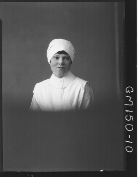Portrait of Nurse 'Pettit'