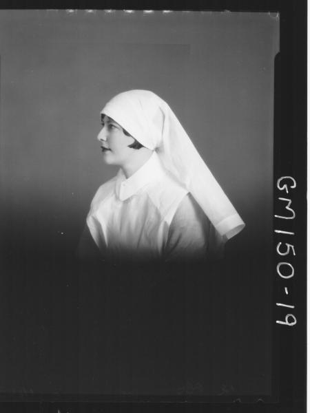 Portrait of Nurse 'Mummee'