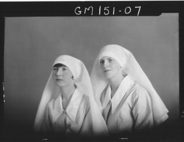 Portrait of two Nurses 'Livey'