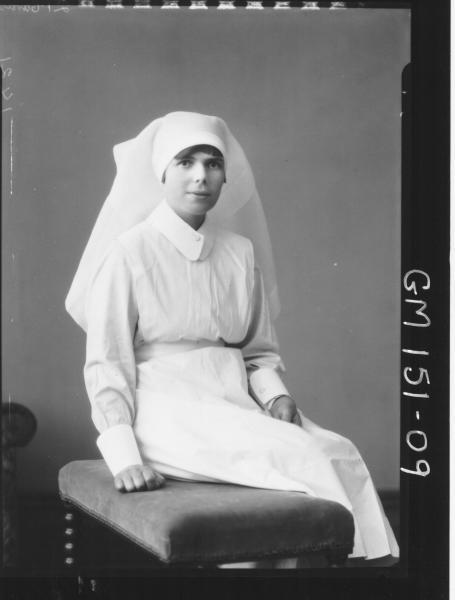 Portrait of Nurse 'Stacey'