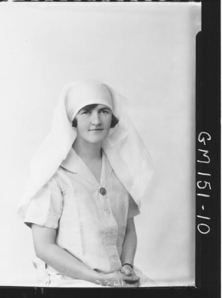 Portrait of Nurse 'Mathews'
