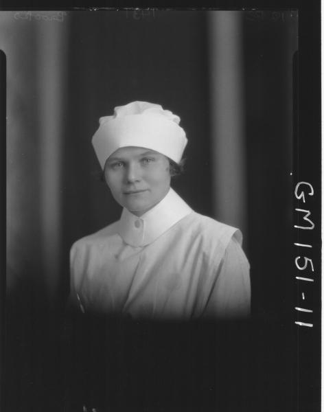 Portrait of Nurse 'Brooks'