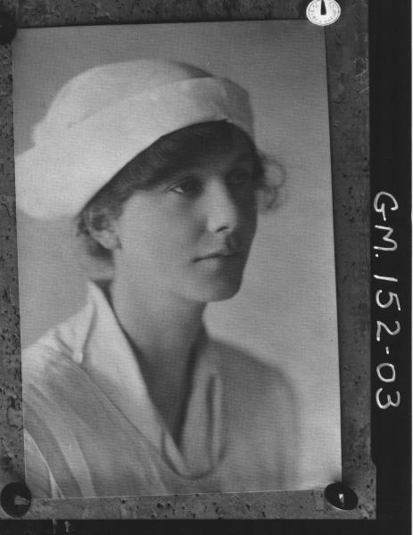 Portrait of Nurse 'Wentner'