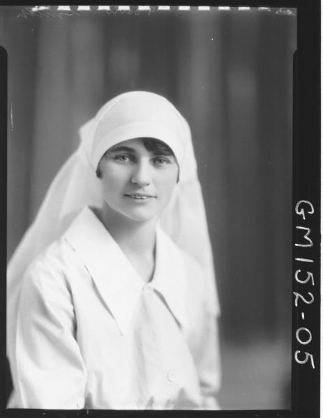 Portrait of Nurse 'Smith'