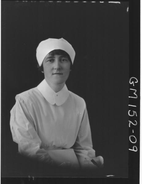 Portrait of Nurse 'Offer'